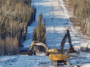 Neechi Resources Ltd - Access mat removal