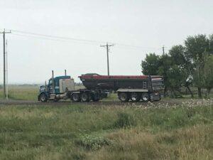 Neechi Resources Ltd Gravel truck