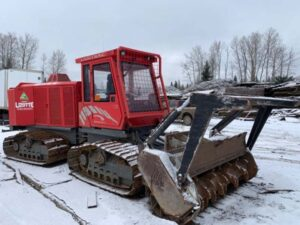 Neechi Resources Ltd - Mulcher used for logging and clearing