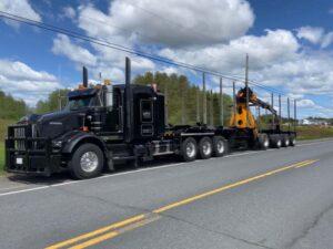 Neechi Resources Ltd Self Loading Log Truck